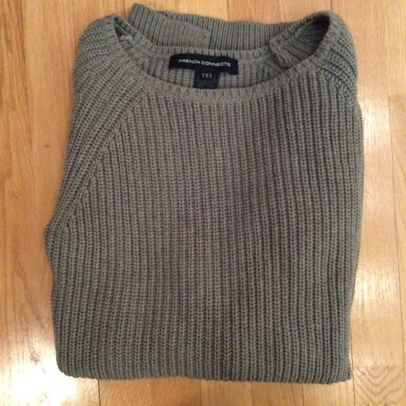 French Connection Sweaters - Long grey sweater